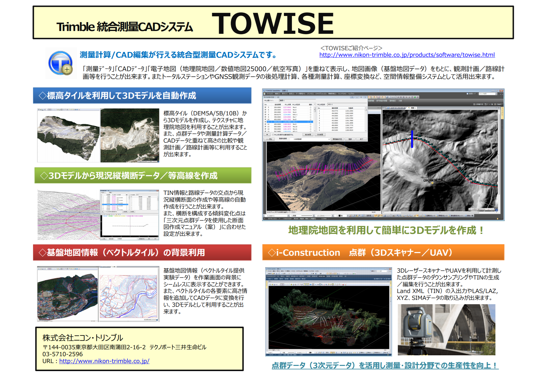 TOWISE+地理院地図
